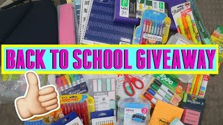 🎉💁🏻‍♀️ BACK TO SCHOOL SUPPLIES HAUL GIVEAWAY 2018 \\ Style Mom XO