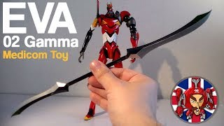 Evangelion 3.0 - Medicom Toy RAH Evangelion EVA Unit 02 Gamma Figure REVIEW