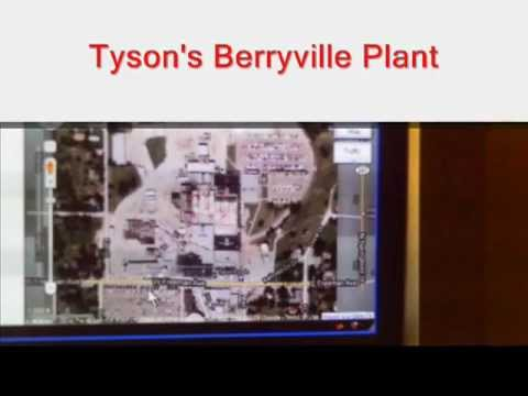 TYSON FOODS, INC. BERRYVILLE PLANT KILLED MY HUSBAND & OSHA NOR ANYONE ELSE DID ANYTHING ABOUT IT!