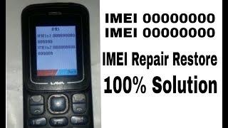 LAVA KKT07+ KEYPAD MOBILE IMEI Repair restore done by  IMEI&SN WRITE TOOL V1.5.3