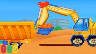 Máy Xúc Đất, Xe Cần Cẩu - Xe Trộn Bê Tông, Xe Tải - Xe Công Trình Các Loại | TopKidsGames (TKG)