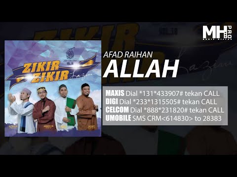 Afad Raihan - Allah (Official Music Audio)