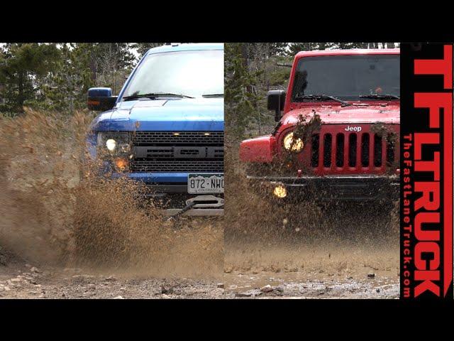 Ford Raptor vs Jeep Wrangler (Part 1): The Ultimate Off ...