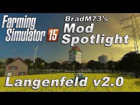Farming Simulator 15 - Mod Spotlight: Langenfeld v2.0 Map Mod