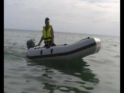 Dinghy with Evinrude 4hp outboard motor
