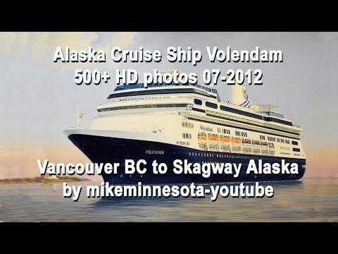 Alaska Cruise Ship Volendam:  400+ HD photos to Skagway AK