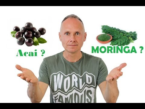 Czy Potrzebujemy Super Owoców ? Moringa ? Acai ?  #356