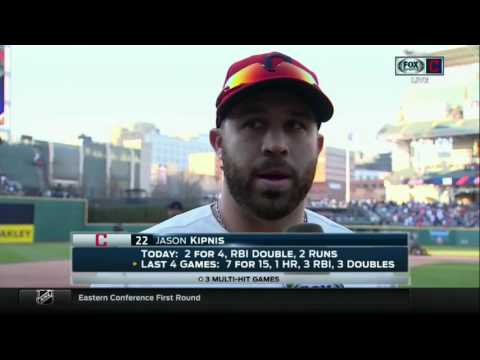 Jason Kipnis after win: We're coming out swinging