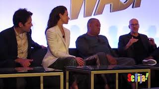 Ant Man and the Wasp Press Conference