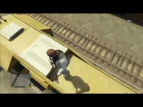 GTA 5 - Conducir trenes o morir en el intento