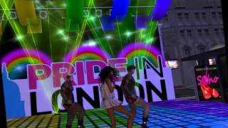 Pride at London City in Second Life