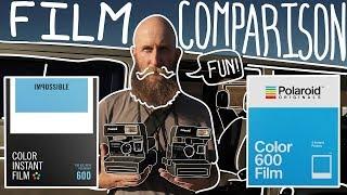 Polaroid Originals Vs. Impossible Project 600 Film Comparison