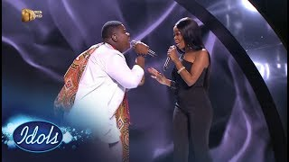 Top 3 Reveal Duets: King B & Mmatema – Idols SA | Mzansi Magic