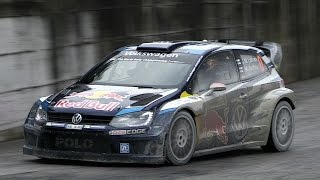 Volkswagen Polo R WRC Sound - Jari-Matti Latvala - Rally Legend 2015