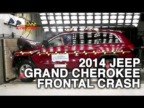 2014 Jeep Grand Cherokee (Later Release)   Frontal Crash Test   CrashNet1