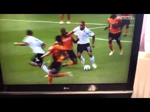 Bobby Zamora leg break-ankle snaps
