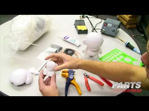 Munny Doll Speaker Building Project Video