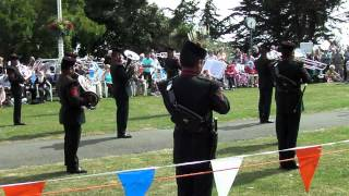 Band of the Brigade of Gurkhas, Armed Forces Day, Folkestone 2014