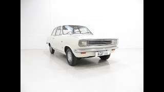 A Delightful Vauxhall Viva HB Super Luxury with Just 11,869 Miles from New - SOLD!
