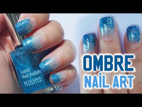 Easy Gradient Nail Art for Beginner (ft. Missha) | Ombre Nail Art