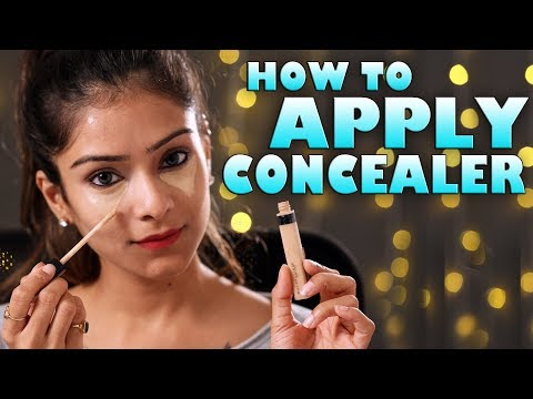 How To Apply Concealer | Correct Way To Apply Concealer | Makeup Tutorial | Foxy Makeup Tutorials
