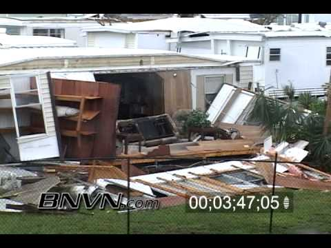 Hurricane Jeanne Video, September 9/26/2004 Fort Pierce Florida, Part 6