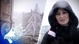 """Blizzard of irony"" greets UN climate change attendees in Poland 