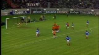 Michel Platini (Triple Ballon d'Or, 41 goals in 72 selections), legendary free kick against Holland