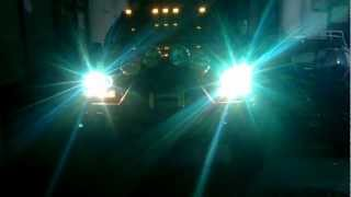 Grand cherokee angel eye mercekli 6000 k xenon mercekli test