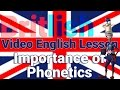 Frame from Phonetics are VERY Important | British English Pronunciation | Learn English