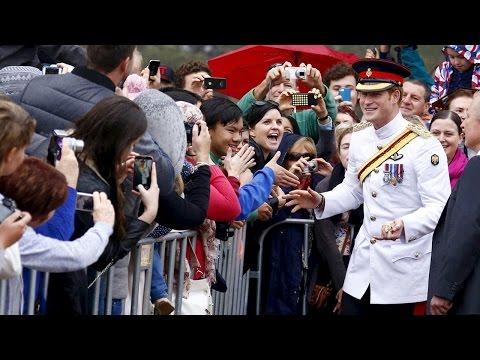 Prince Harry to teenage fan:
