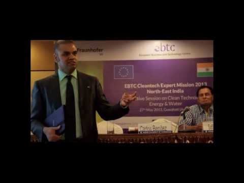 EBTC Cleantech Expert Mission to North-East India, 27-29 May 2013, Assam & Meghalaya