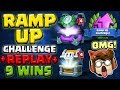 9 WINS RAMP UP CHALLENGE • WINNING Clash Royale Deck! MP3