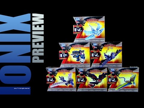 Ionix ™ Dragons - Serie 2 - Preview zum Unboxing / 2015 Re-Upload