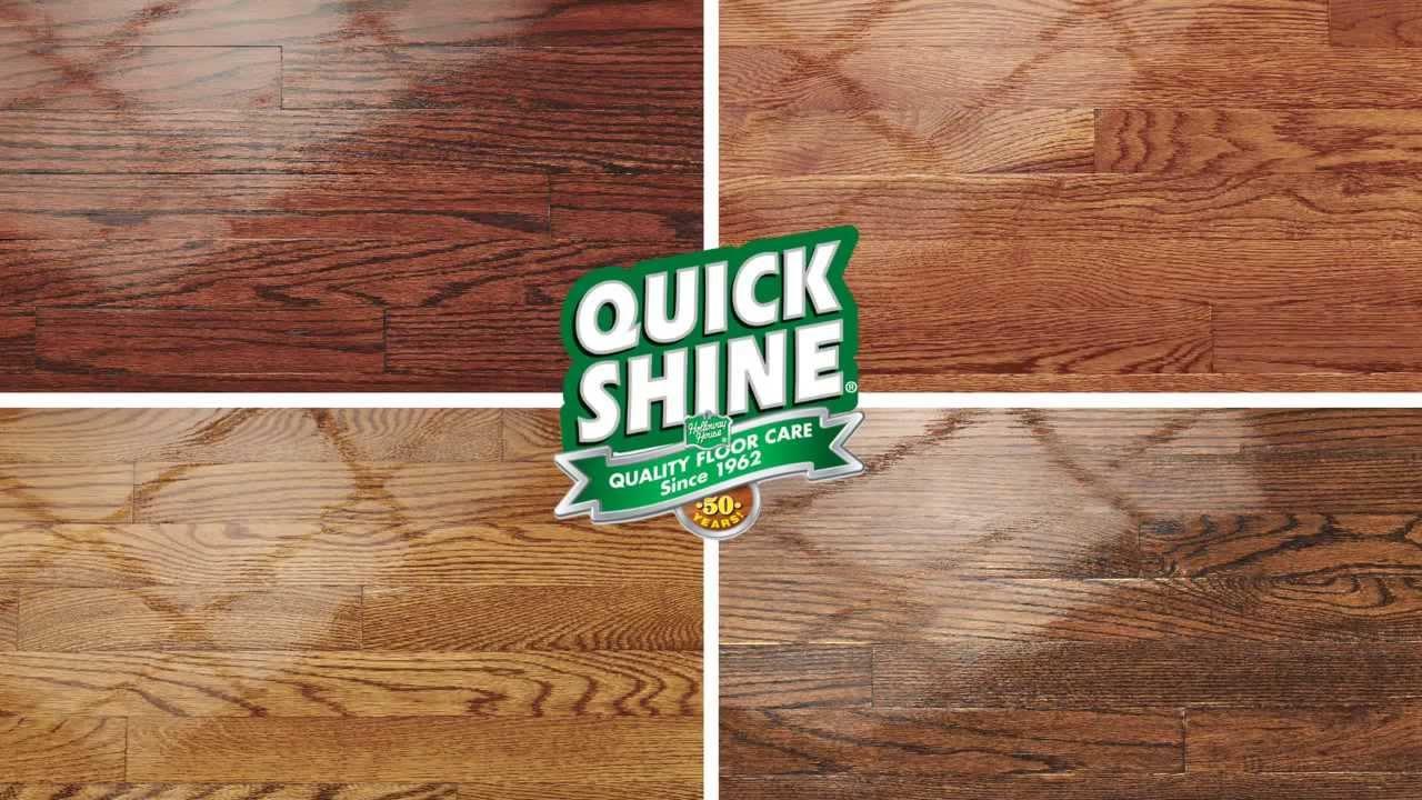 Quick Shine Hardwood Floor Luster - YouTube