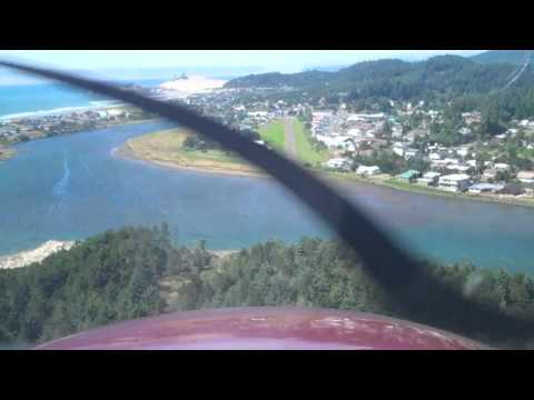 Landing at KPFC (Pacific City, OR)