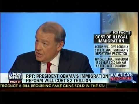 Rpt: Obama's Immigration Reform Will Cost $2 Trillion - Stuart Varney - America's Newsroom