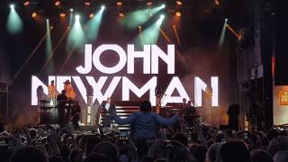 John Newman   (Still Gotta) Fire In Me @ Bosco Fresh Fest In Moscow 25th June 2017