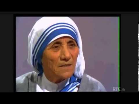 Mother Teresa of Calcutta on Irish Television, 1974