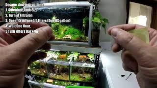 Kill Algae And Increase Shrimp Survival By Alot With H202