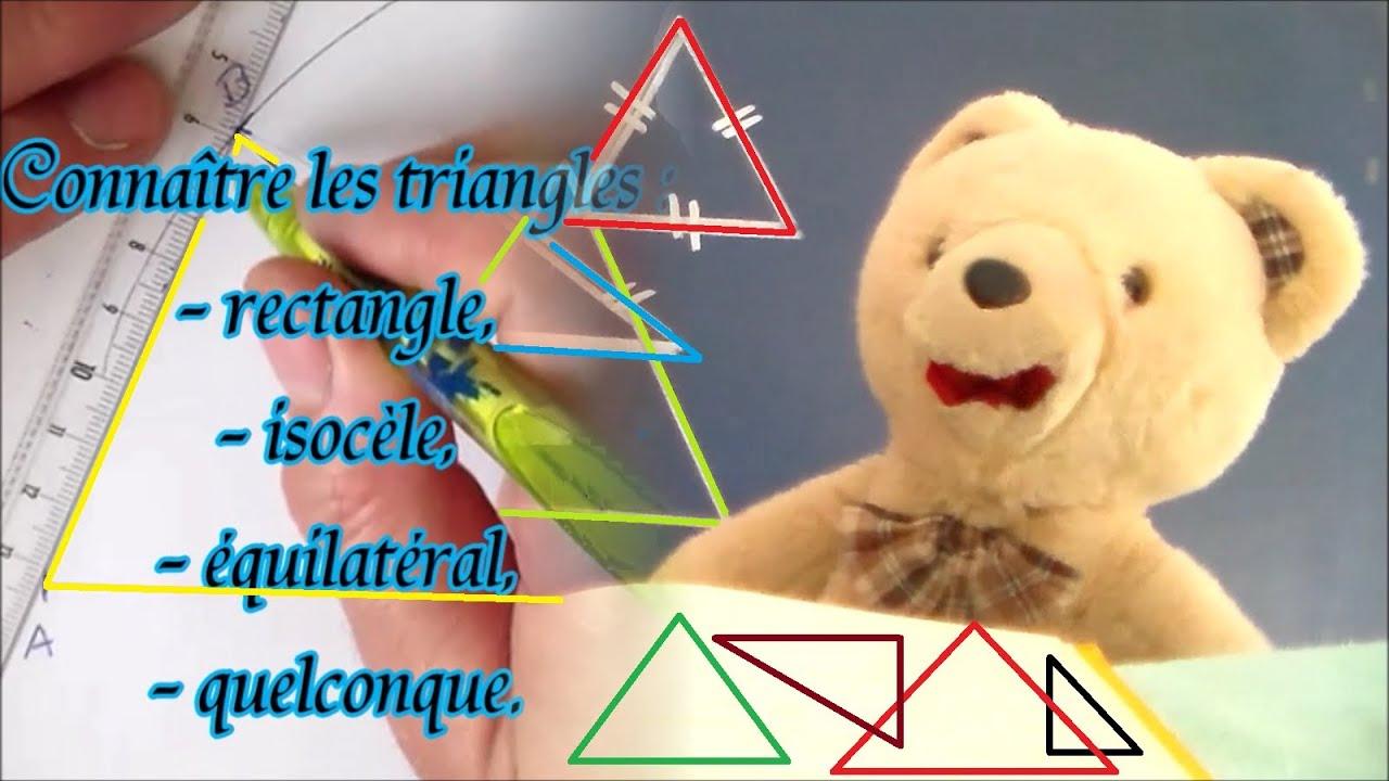 Comment construire triangle rectangle isoc le la r ponse est sur - Comment construire un trapeze ...