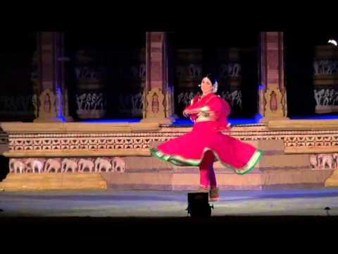 Khajuraho Dance Festival 2013 Tina Tambe-Kathak