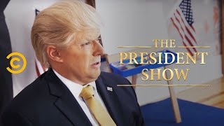 Donny Goes to School - The President Show - Comedy Central