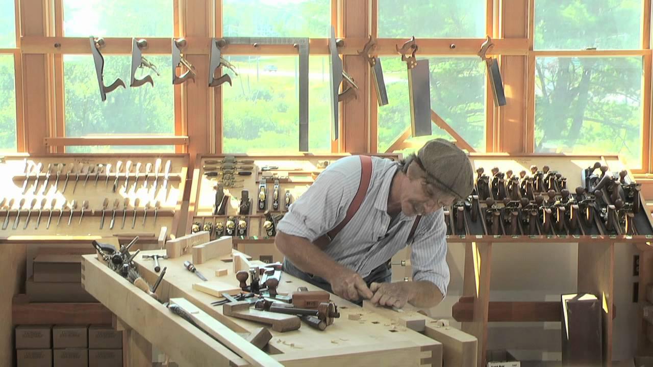 Roy Underhill's Bench Hooks - YouTube