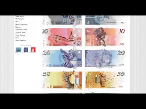Euro Banknotes That Never Made It