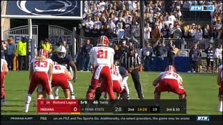 2017 - Indiana Hoosiers at Penn State Nittany Lions in 40 Minutes