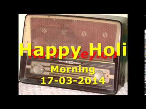 Radio Ceylon 17-03-2014~Monday Morning~05 Holi Songs-2