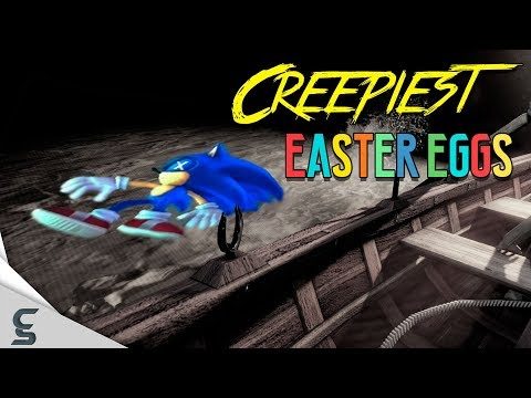 The 10 CREEPIEST Easter Eggs in Games