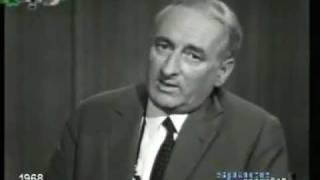 Prof. Heinz Haber 1968 über Geo-Engineering (HAARP und Chemtrails)