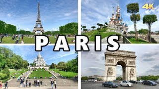 PARIS - FRANCE , BEST OF PARIS 2019 4K